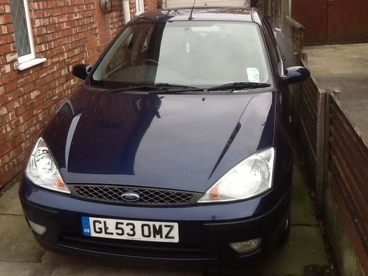 Ford focus 2004 1.6 automatic on Gumtree. Ford focus 1.6 automatic for sale Colour: blue Needs front pads and discs and will need to r