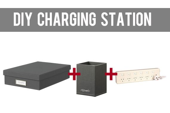 Top 14 ideas about charging stations on pinterest Diy cell phone charging station