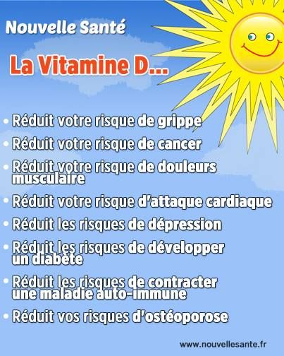La Vitamine D... http://www.santeplusmag.com