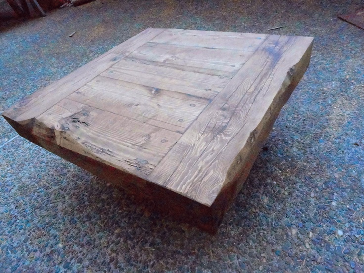 Old Growth Coffee Table 4 Inch Thick Top 30 X By MtHoodWoodWorks
