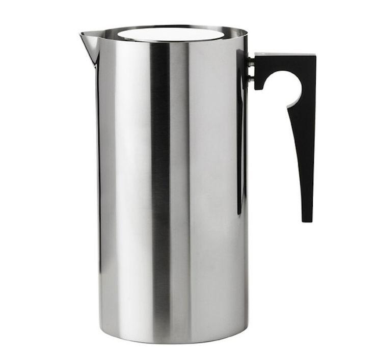 Arne Jacobsen, Stelton, Cylinda-line, coffee pot, Danish design, midcentury, Danish tableware