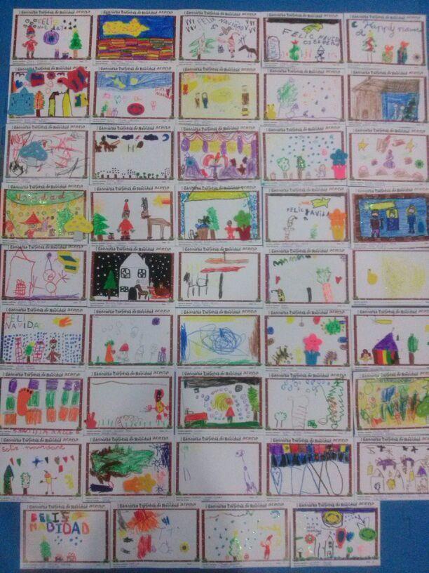 El pasado viernes 15 de noviembre, los más pequeños del Club participaron en el I CONCURSO DE TARJETAS NAVIDEÑAS DE ARENA ALICANTE. La cita tuvo lugar a las 17.30 en la Guardería Arena. Nuestros artistas pusieron todas sus ganas y su concentración en crear verdaderas obras que les hicieran merecedores del premio final. Jugaron con colores, pegatinas, purpurina; e hicieron un despliegue imaginativo digno de los mejores pintores del momento.