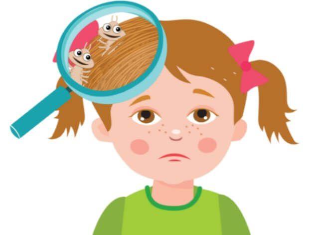 Πως να διώξετε τις ψείρες από το κεφάλι του παιδιού