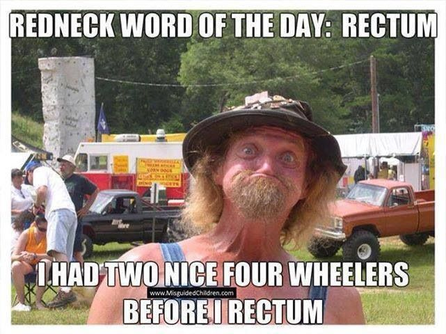 Redneck word of the day
