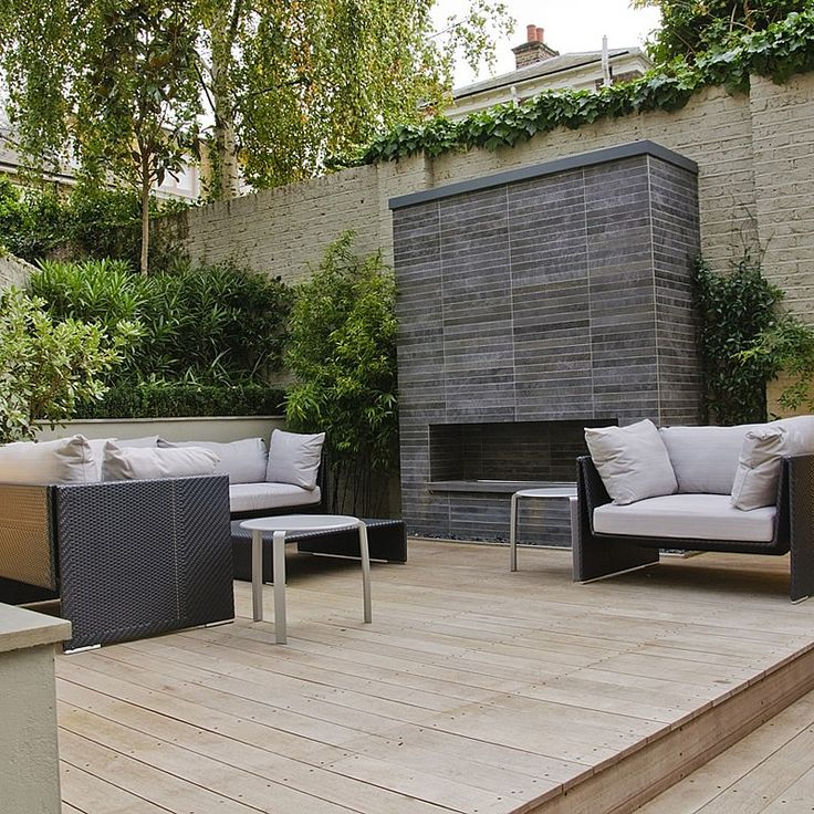 Fireplace Design madison fireplace and patio : The 25+ best Modern outdoor fireplace ideas on Pinterest | Modern ...