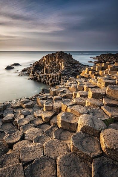 La Calzada de los Gigantes, Irlanda del Norte.