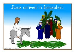 The Easter Story visual aids
