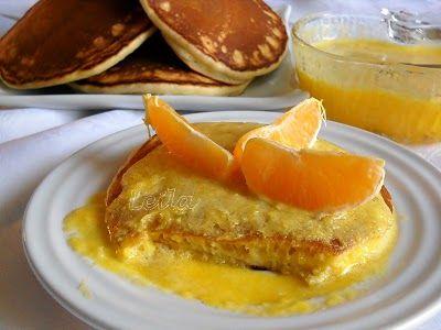 Clatite americane cu sos de portocale | Retete Culinare - Bucataresele Vesele