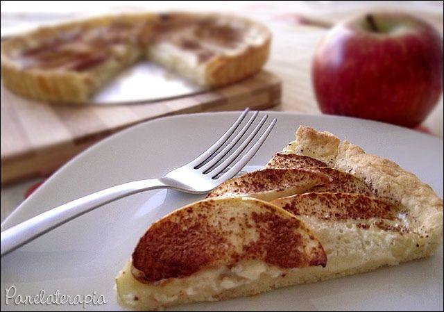 Torta Light de Maçã com Canela ~ PANELATERAPIA - Blog de Culinária, Gastronomia e Receitas
