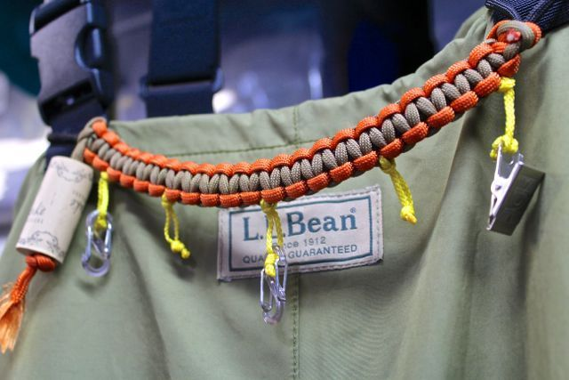 A Basic Design For A Fly Fishing Lanyard That Can Be Configured To Wear From Your Waders Jacket Or Fishing Lanyard Fly Fishing Accessories Fly Fishing Lanyard