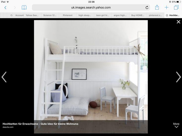 Connie 2 Tier Compact Desk Compact, Desks and Bedroom makeovers - hochbetten erwachsene kleine wohnung