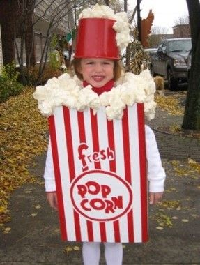 Make a popcorn box out of a #foamboard for a fancy dress competition for your little one. This is an amazing and innovative idea that will astonish everyone! https://www.foamboardsource.com/ #acidfreefoamboard #pvcsheets #gatorfoam