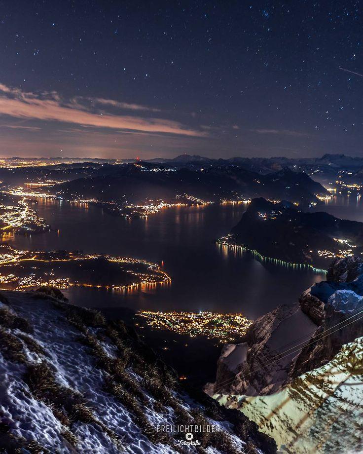 LUZERN FROM ABOVE, Switzerland