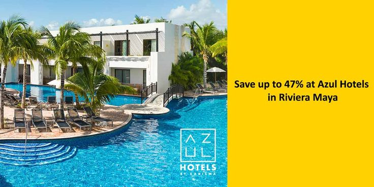 47% Off at Azul Hotels in Riviera Maya - https://traveloni.com/vacation-deals/47-off-azul-hotels-riviera-maya/ #deals #vacation #mexico #caribbean #rivieramaya