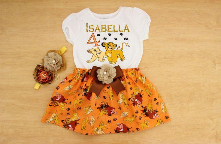 Lion King Birthday Outfit, Lion King Tutu, Personalized Lion King Outfit, Lion King Dress, Birthday Tutu,Lion King Shirt,Nala Birthday Shirt by GirlsDreams on Etsy https://www.etsy.com/listing/288944165/lion-king-birthday-outfit-lion-king-tutu
