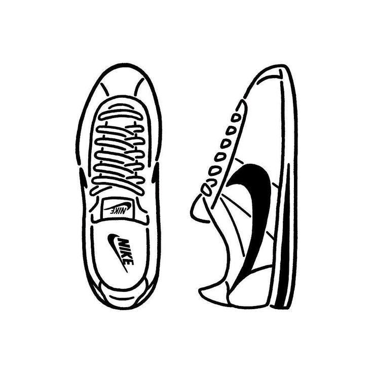 Nike Cortez This is my favorite. お気に入りの一足 #nike #cortez #sneakers #fashion #shoes #seijimatsumoto #松本誠次 #art #artwork #draw #graphic #illustration #イラスト #ナイキ #スニーカー #ファッション #デザイン