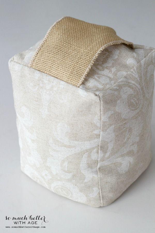Fabric door stop tutorial