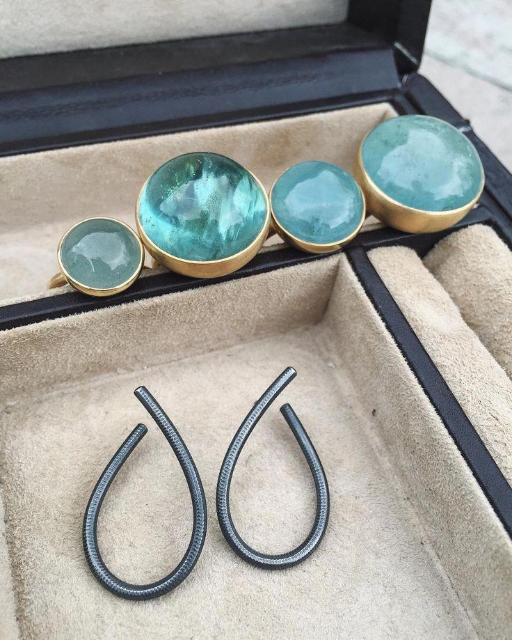 Glædelig mors dag💐💝 #mothersday #kharisma #silver #gold #earrings #rings #mix #handmade #jewelry #finejewelry #dulongfinejewelry