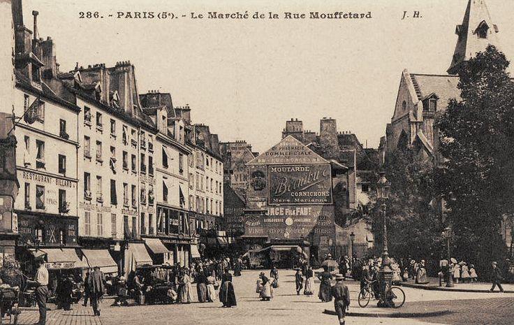 rue Mouffetard - Paris 5e/6e