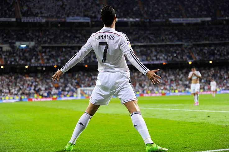 Another week. Another hat-trick. #GoalMachine Shop CR7 >> http://bit.ly/CR7_Gear — with Cristiano Ronaldo.