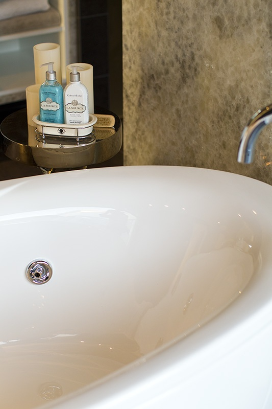 What better way to end a busy day than in a luxury, free standing bath with some relaxing bath products