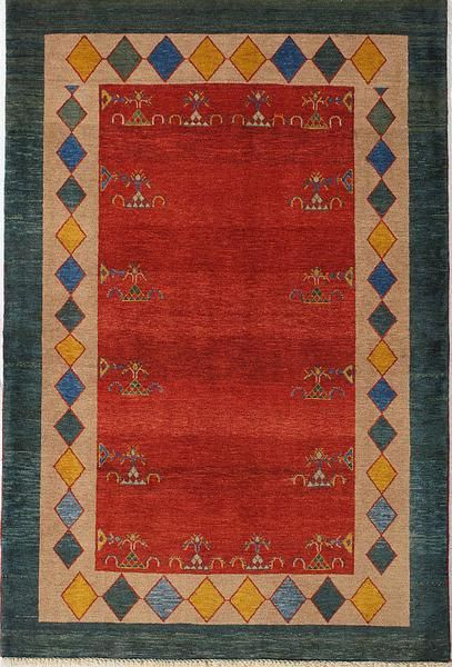 Persian Lori, Gabbeh, Red