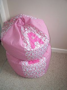 Magnificent Bean bag Pattern Idea From Pinterest - http://beanbagchairz.com/Blog/magnificent-bean-bag-pattern-idea-from-pinterest/