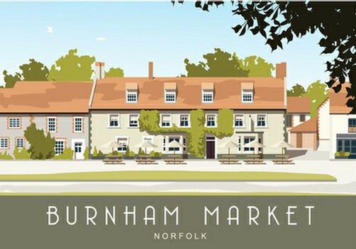 Burnham Market. Available from www.whiteonesugar.co.uk starting at £12,