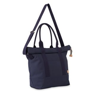 Riley Roll Top Tote Bag, in Navy on Whistles