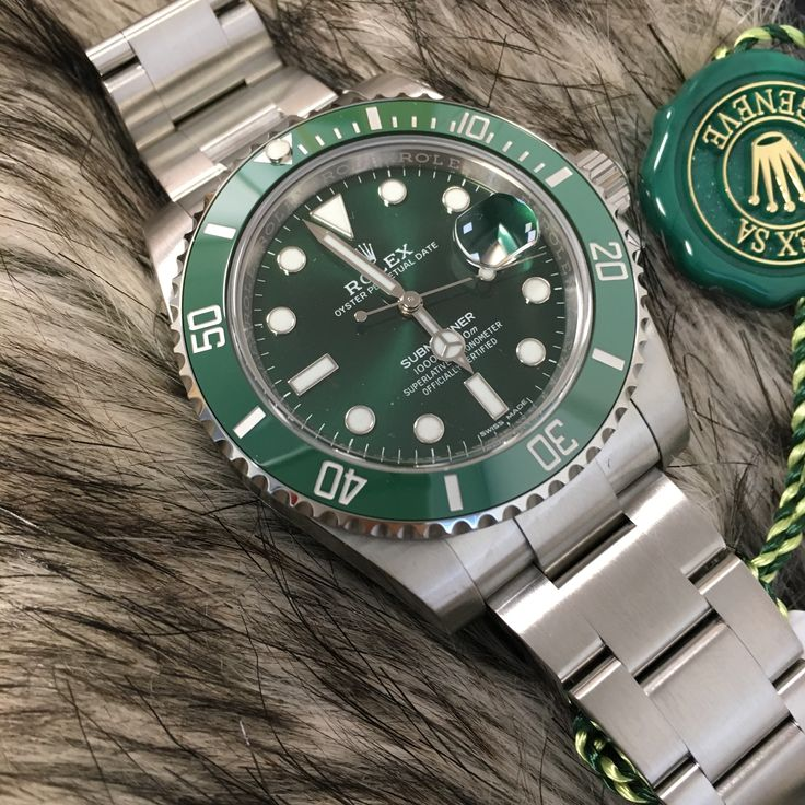 The elusive Hulk! ☘ Rolex Submariner LV back in stock!
