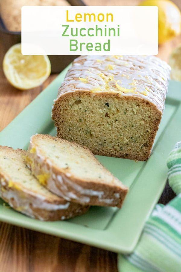 lemon zucchini bread is a quick easy and moist bread