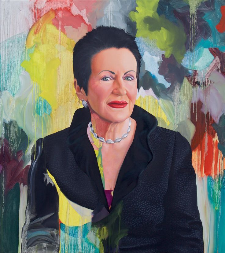 Kim Leutwyler's portrait of Lord Mayor of Sydney, Clover Moore