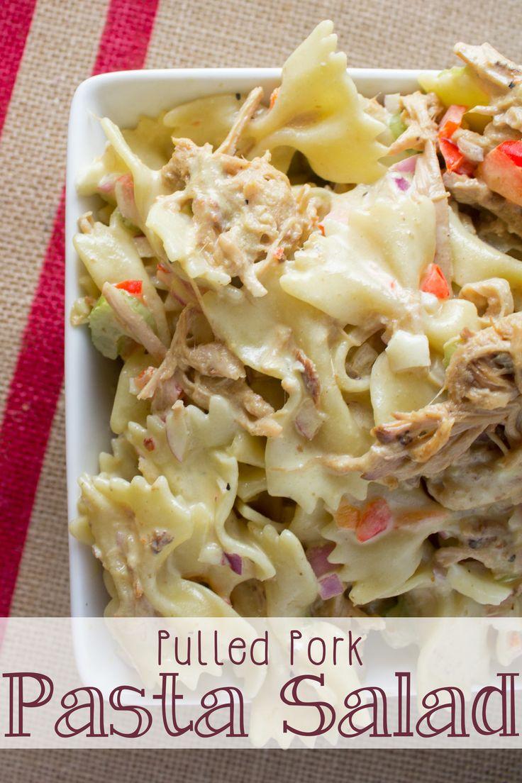 Pulled Pork Pasta Salad Recipe Tailgating Recipes