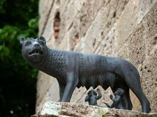 ROMA...AMOR: Leggenda della nascita di Roma: Romolo e Remo