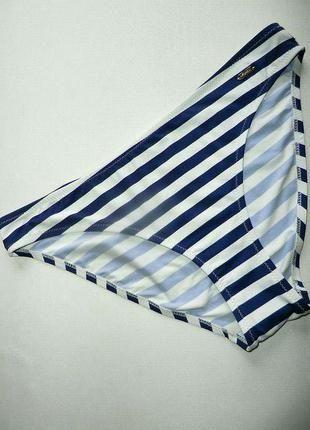 Купальные плавки бикини в сине-белую полоску chillin. р s, l.+(Chillin Crop)+ за+90+грн.