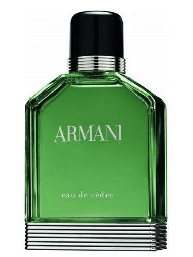 7ae4b8cf8d574 Armani Eau de Cèdre Giorgio Armani para Hombres