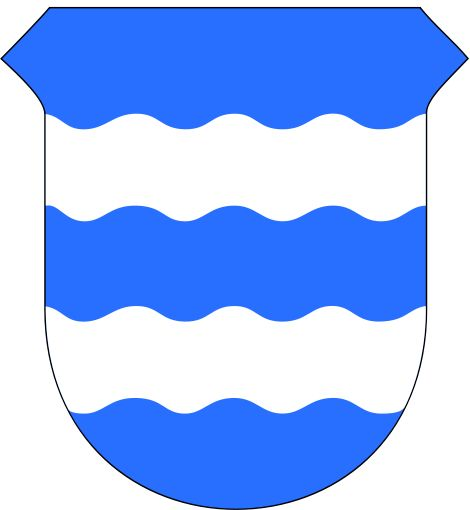 Coat of arms for the Norwegian city and municipality of Harstad
