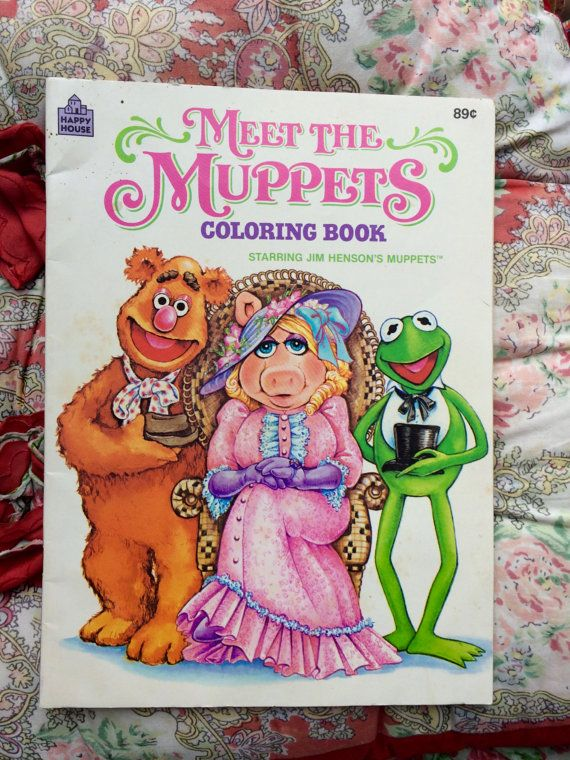 Muppets Coloring Book  Coloring books