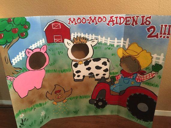 Farm Party Farm Birthday Farmer Party cowboy Party by CreativChick