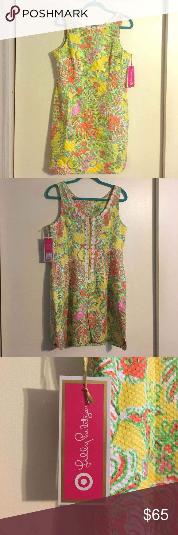 Lilly Pulitzer for Target shift dress. Brand new, never worn. Size 12. Lilly Pulitzer for Target shift dress. Lilly Pulitzer for Target Dresses Mini