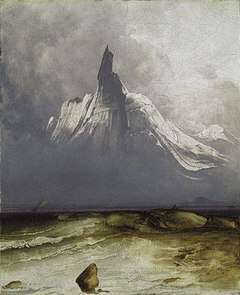 Stetind in Fog, 1864
