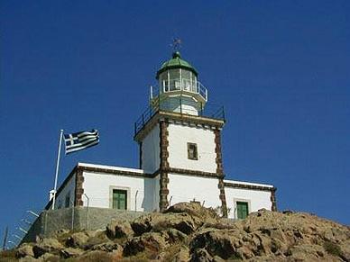 Tholos Resort Hotel Santorini - the lighthouse at Akrotiri