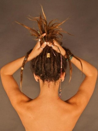 I just want a couple dreads. on the bottom layer of my hair!: Buckets Lists, Dreadlocks, Dreads, Summer Style, Dreams Hair, Beads, Ray Ban Sunglasses, Hair Looks, Tattoo