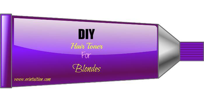 Amazing DIY 2 Ingredient Blonde Hair Toner.  No developer needed! #Blonde #PurpleShampoo