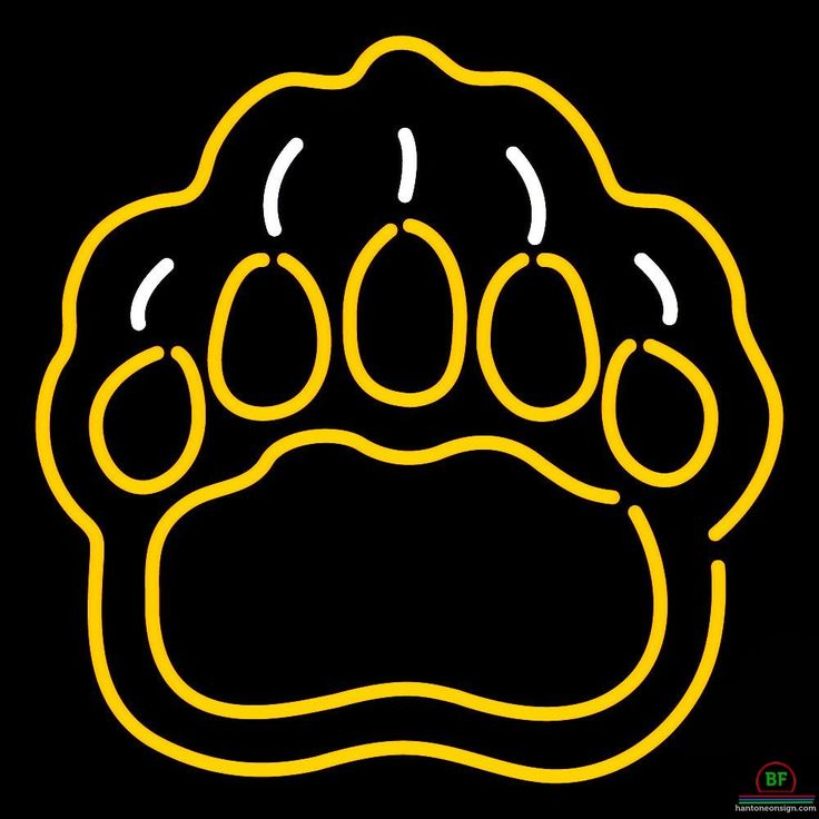 Brown Bears Neon Sign NCAA Teams Neon Light | 아이디어