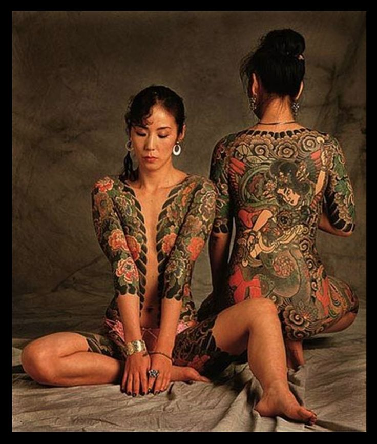 japanese girl tattoo on pussy
