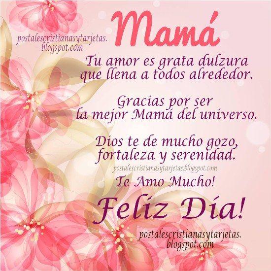 tarjetas de cumpleaños para mi mama | Feliz Día Madre. Te Amo Mucho.Feliz día de las madres, 12 de mayo ...