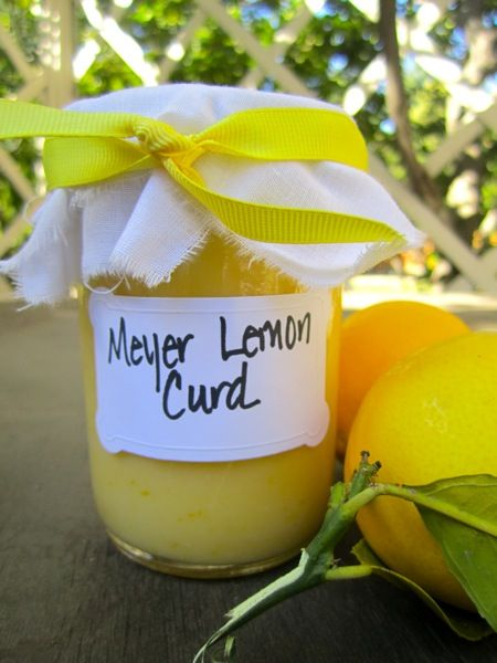 Meyer lemon curd recipe... An actual link to an actual recipe, in ...