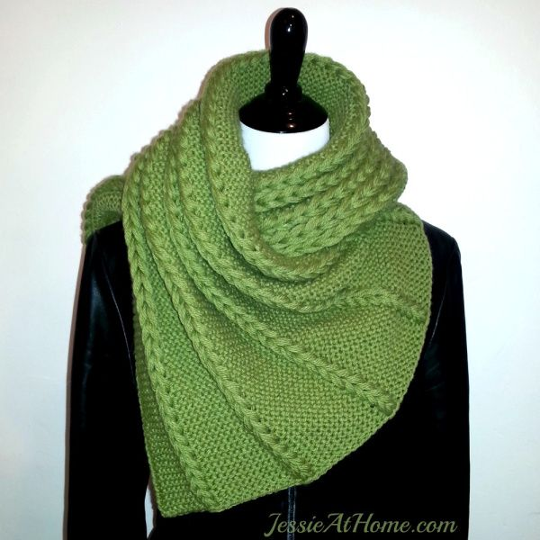 Dropped and Found Wrap Free Knitting Pattern | Free Shawl and Wrap Knitting Patterns at www.intheloopknitting.com