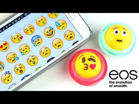 DIY Emoji EOS Lip Balm | SofiaStyled ☺ - YouTube